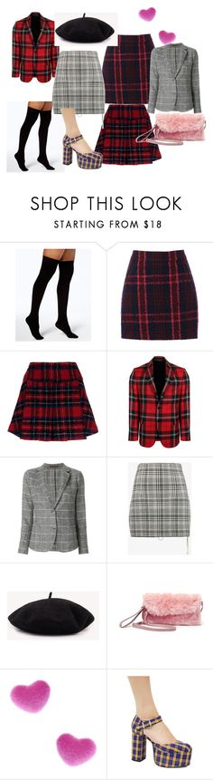 """clueless"" by clara-costa-1 ❤ liked on Polyvore featuring DKNY, Oasis, Pinko, Versace, Eleventy, Off-White, Steve Madden, Suzywan DELUXE and Current Mood"
