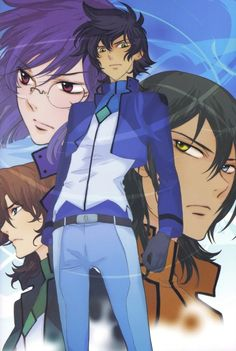 Mobile Suit Gundam 00, Setsuna F. Seiei, Tieria Erde, Allelujah Haptism