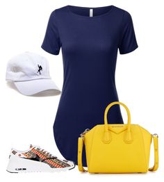 """Untitled #4447"" by stylistbyair ❤ liked on Polyvore featuring Classy Brand, Givenchy and NIKE"