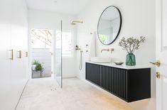 How To Combine a Bathroom and Laundry - Just in Place Blog