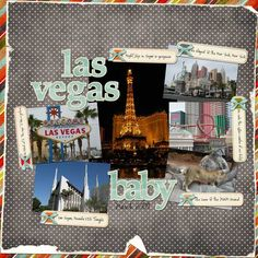 las vegas scrapbook page ideas | Posted in Uncategorized