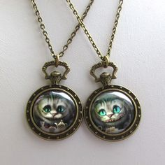 Cheshire cat pendants from F'Moush