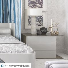 #Repost @newdaywoodwork with @repostapp.  Close Up --- Stunning metal & lacquer bed side tables All Design Cred: @drake__anderson #drakeanderson @kbshowhouse #kipsbay #tbt #amazing #design #details #woodworking @newdaywoodwork #newdaywoodwork #onestopshop #handmade #furniture #millwork #bed #nighttables #newyork #woodworker #woodshop #woodworking #artisan #bedsidetables #metal #finishing #lacquer #homedecor #chic - contact us - ross@newdaywoodwork.com by drake__anderson