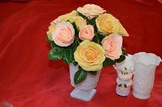 Cleveland Glass Co. Vintage Napco #1180 Milk Glass Planter White Hobnail Pedestal Planter Wedding Vase by GrandesTreasures on Etsy