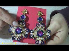 Seed Bead Earrings, Beaded Earrings, Beaded Jewelry, Beaded Bracelets, Jewelry Making Tutorials, Beading Tutorials, Beading Patterns, Beaded Shoes, Diy Jewelry Inspiration