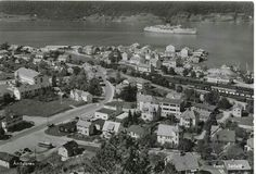 Møre og Romsdal fylke Rauma kommune Åndalsnes 1950-tallet utg Sødahl