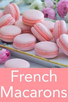 This easy French macaron recipe from Preppy Kitchen makes a batch of the most dainty, delicate, and delicious cookies that will float right into your mouth and disappear. I've packed all my tips into Easy French Macaron Recipe, French Macaroon Recipes, French Desserts, French Macaroons, Best Macaron Recipe, Recipe For Macaroons Easy, Vanilla Macaron Recipes, Vanilla Cake, Macarons Easy