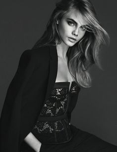 Sexy & Sophisticated done so well with LA PERLA SS 2014 CAMPAIGN & the gorgeous CARA DELEVINGNE