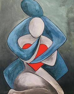 Abstract Face Art, Afrique Art, Cubism Art, Diy Canvas Art, Art And Illustration, Love Art, Amazing Art, Watercolor Art, Modern Art