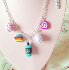 5 charms Design your own Lush inspired charm by ArtsnCandies