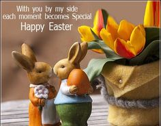 DIY Easter Decorations ideas are amazing. Get best Easter decor ideas & easy Easter decorating tips here, including Easter decorations for home & Easter DIY Happy Easter Messages, Happy Easter Wishes, Happy Easter Greetings, Easter Bunny Images, Easter Pictures, Ostern Party, Diy Ostern, Diy Osterschmuck, Wie Macht Man