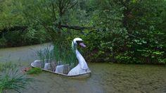 ke7in:  Swan Lake Spreepark (formerly Kulturpark Plänterwald, 1969-1989), Berlin, Germany (closed in 2002)