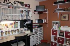 Create your own scrapbook room
