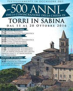 Consacrazione della Chiesa Torri in Sabina | WEB TV STUDIOS