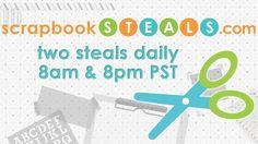 scrapbookSTEALS.com® | Daily Scrapbook Deals at 8am & 8pm PST. Ideas & How To