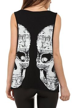 Double Vision Girls Tank Top Size : X-Large