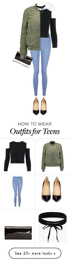 """""""Movie Premiere"""" by jalisaartista on Polyvore featuring New Look, Christian Louboutin, Boohoo and W118 by Walter Baker"""
