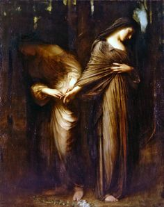 """Vale"" or ""Farewell"" by  Arthur Hacker (1913)"