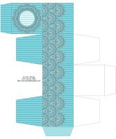 Don't Eat the Paste: Printable Lace Box in 5 colors