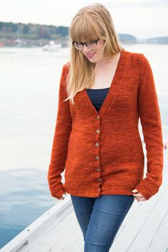 Amy Herzog Custom Fit, for the Harbour Island Cardigan