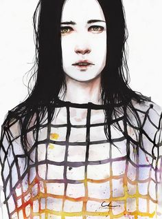 Such beautiful art from Agnes Cecile