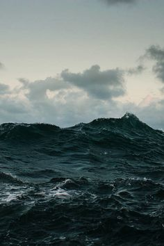 Roll on, deep and dark blue ocean, roll. Ten thousand fleets sweep over thee in vain. Man marks the earth with ruin, but his control stops with the shore.- Lord Byron