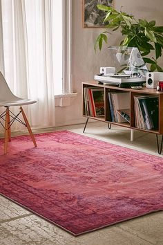 Chroma Overdyed Rug | Urban Outfitters