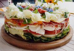 Party - Salattorte, ein gutes Rezept aus der Kategorie Gemüse. Bewertungen: 254. Durchschnitt: Ø 4,5.