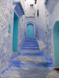 Blue Doors in Greece photo by miguel flores