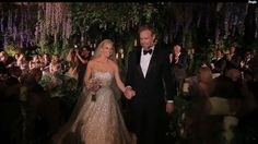 Jessica Simpson's wedding video shows off elegant, fun affair. Love every bit of her decor!!!!!