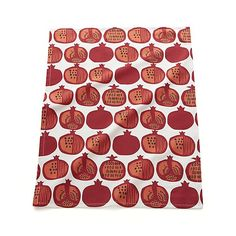 Pomegranate Dish Towel | Crate and Barrel