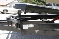 Tilt Bed Trailers - We can special order any size trailer to fit your needs! Tilt Trailer, Car Hauler Trailer, Trailers, Trailer Plans, Tractor Attachments, Lifted Cars, Welding Projects, Amazing Cars, Bed