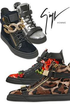 Take your first step toward a stylish Fall wardrobe with Giuseppe Zanotti's signature mix of sport style, hip-hop and luxury. Be the first to shop sneakers, loafers and exclusive capsule collection pieces.