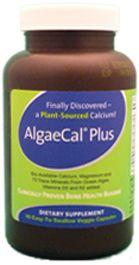 AlgaeCal Plus plant source calcium and mineral supplemement