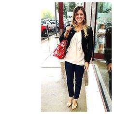 FRIDAY, SEPTEMBER 20, 2013 WHAT I WORE: JEANS- IRIS JEANS HEELS- ADRIENNE VITTADINI BLOUSE- GAP JACKET- CHARTER CLUB WHAT A RAINY, NASTY FRIDAY! MY GOOD FRIEND ASHLEY WAS IN TOWN VISITING AND WE DECIDED TO GO TO LUNCH ON MY BREAK FROM WORK BUT IT RAINED THE ENTIRE TIME! THE ONLY THING I WISH I HAD CHANGED ABOUT THIS OUTFIT WAS HAVING A MATCHING UMBRELLA. I FELT COMFORTABLE ANDS STYLISH ALL DAY REGARDLESS OF MY KNOTTY HAIR AND RAINED OFF MAKEUP.