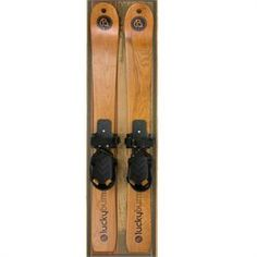Youth Wooden skis.