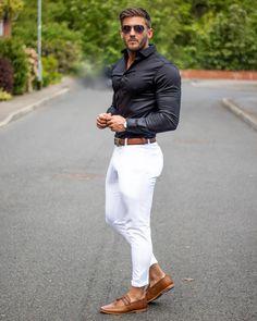 fashion dress socks, mens fashion music, mens fashion cheap fashion boots, men's fashion advice for over men's fashion casual belts, cheap men's fashion clothing uk size. Black Outfit Men, Formal Men Outfit, White Pants Outfit Mens, Men Formal, Blazer Outfits Men, Stylish Mens Outfits, Prada Outfits, Trendy Suits For Men, Men's Outfits
