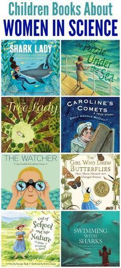 Books about Women in Science for Children - Mommy Evolution - Livre Science Books, Science For Kids, Science Activities, Earth Science, Science Experiments, Library Science, Science Notebooks, Science Classroom, Science Centers
