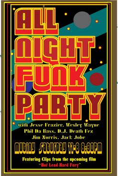 all night funk party
