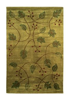 I love this Stickley inspired rug.