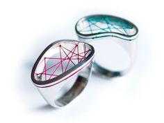 Klimt02: Piñeros, Andrea jewelry design unique handmade jewelry images jewelers