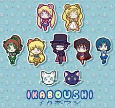 SAILOR MOON 2014 Inspired Stickers on Etsy, $7.00