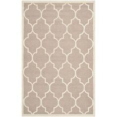 Safavieh Handmade Moroccan Cambridge Beige/ Ivory Wool Rug (8' x 10') - Overstock™ Shopping - Great Deals on Safavieh 7x9 - 10x14 Rugs