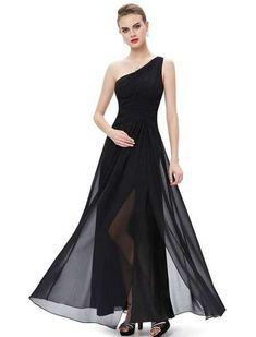 3ecc5734ae0 40 elegantes vestidos de fiesta negros