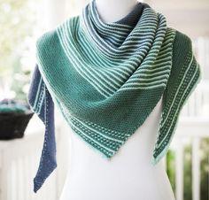 Drachenfels by Melanie Berg Shawl Knitting Kit -