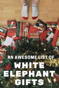 Creative White Elephant Gift Ideas 2019 31 Best White Elephant Gift Ideas images in 2019 | Best white