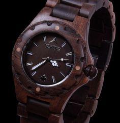 "Very Cool Watches ""Taiga Chocolate""   Konifer Watch"