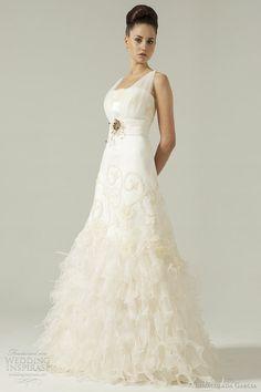 inmaculada garcia wedding dress 2012 -