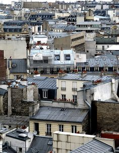 toits de Paris - a regular favorite of mine