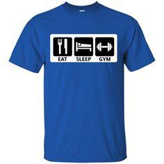 Gym Shirts It's My Life Sleep Eat Gym T-shirts Hoodies Sweatshirts